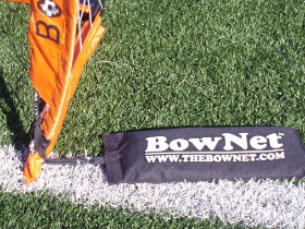 Sand Bags to secure goals - by Bownet